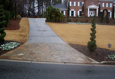 Concrete Replacement Specialists pavers flagstone accent