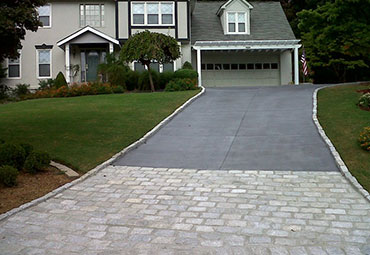 Concrete Replacement Specialists pavers stone inlay